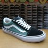 VANS OLD SKOOL PRO black / duck green