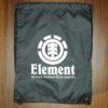 ELEMENT BUDDY CINCH BAG flint black