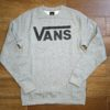 VANS CLASSIC CREW concrete heather
