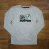 BURTON BOYS CUPAJO LS gray heather
