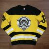 DOOMSDAY PANTHER HOCKEY CREWNECK black yellow