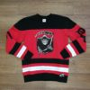 DOOMSDAY BADGE HOCKEY black red