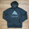 BURTON OAK PO MTN true black heather